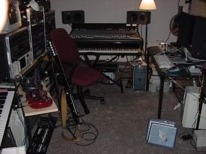 My studio setup in Nova Scotia